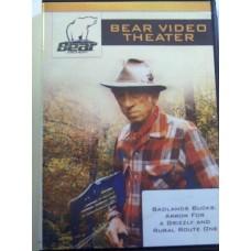 DVD Bear Video Theatre - badlands bucks...