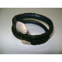 Karkötő kígyó mintás