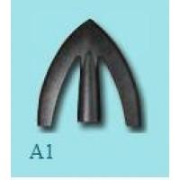 Kovácsolt nyílhegy széles A1